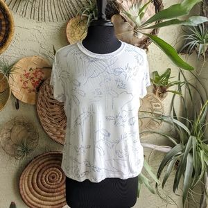 RVCA M Modal Luxe T-shirt Soft Surfer Vacation Top